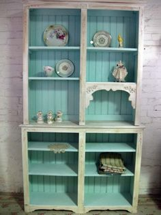 shabby chic book shelves