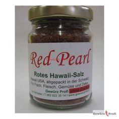 Rotes Hawaii-Salz Red Pearl 150g im Glas, 12.50