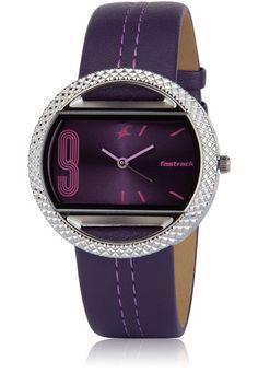 women #watches #watch #jabongworld fastrack Women's Watches, Luxury Watches, Cool Watches, Fashion Watches, City Fashion, Style Watch, Leather Watch Bands, Beautiful Watches, Vintage Watches