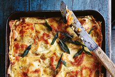 Eat! Donna Hay Times Magazine January 30th 2016 pumpkin and sage burnt butter lasagne Photographs Anson Smart Food styling Steve Pearce