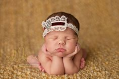 Chocolate Velvet & Cream Lace Headband - Ivory Brown - Wedding Baptism Christening - Girls Newborns Baby Infant Adults - Photo Prop. $17.00, via Etsy.