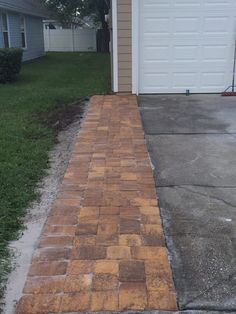 """WCL Pavers, LLC 3"""" Driveway extension in pavers"""