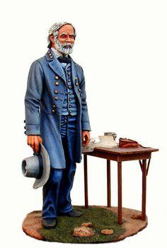 Generale Lee, esercito confederato, guerra civile americana, 1861