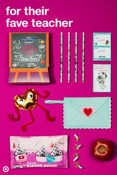 Help your kid give kudos to their favorite teachers with fun Valentine's Day gifts from candy to cute crafts.