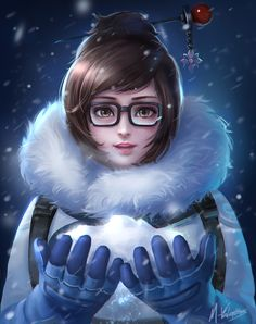 overwatch Mei by mvalentinus on @DeviantArt