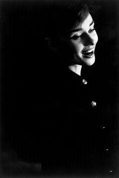 """Portrait of Audrey Hepburn by David Seymour, 1956"" found on missingaudrey.tumblr.com"