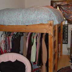 """Acquire wonderful recommendations on """"murphy bed ideas ikea queen size"""". They are accessible for you on our web site. Build A Loft Bed, Loft Bed Plans, Murphy Bed Plans, Cama Murphy Ikea, Queen Loft Beds, Murphy-bett Ikea, Make A Closet, Closet Bed, Closet Space"""