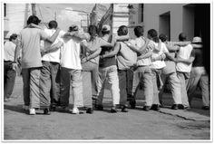 """Colectivo ENEMA (Cuba), """"Mezclilla"""", Camagüey, Cuba, 2001."""