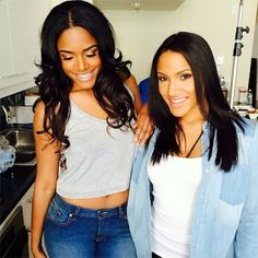 #TTP DOUBLED UP THE @PZI Jeans CAMPAIGN SHOOT - BTS TODAY W/HD MODELS @therealniamoore & @Jasmine Toi - WE WORK! #pzijeans #pzidenimsuite #curvygirlsrock #fashion #campaigns #newrules #itsjustdifferent