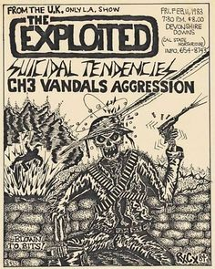 Old Punk Flyers : Photo Music Flyer, Concert Flyer, Tour Posters, Band Posters, Music Posters, Recital, Punk Tattoo, Tattoos, Hardcore Music