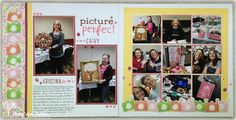 I Didn't Have Potatoes: RB Hop: Share the Love! Picture Perfect: Double page scrapbook layout using CTMH Share the Love