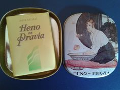 VINTAGE HENO DE PRAVIA SOAP TIN BOX GAL PERFUMERY SPAIN. Disponible en Ebay: http://www.ebay.es/itm/VINTAGE-HENO-DE-PRAVIA-SOAP-TIN-BOX-GAL-PERFUMERY-SPAIN-/122062626543?