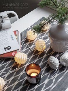 Christmas All Things Christmas, Christmas Lights, Christmas Decorations, Xmas, Table Decorations, Candle Jars, Candles, Christmas Inspiration, New Homes