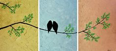 """""""Just The Two Of Us"""" by QIQIGALLERY. $295.00, via Etsy."""