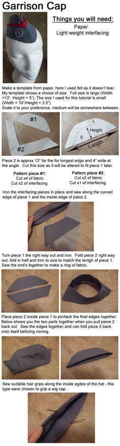 Garrison cap tutorial by Aliasdotcom