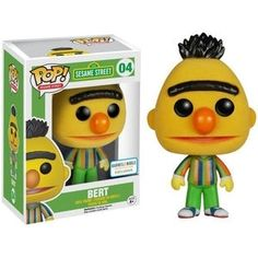 Bert (Flocked) Pop Vinyl Pop Sesame Street | Pop Price Guide