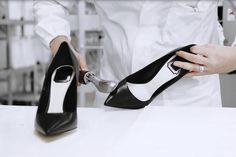 Savoir-faire: The Making of 'Dioressence' shoes