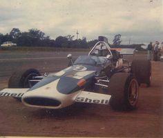Kipp Ackerman @ Roy Hesketh SA with his McLaren