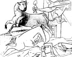 interprétation Guernica de Picasso catacombes