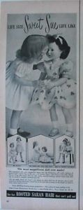 1954-American-Character-DOLL-SWEET-SUE-for-Christmas-Advert-life-size-31-tall