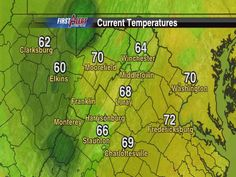 Sept. 19: State Temps