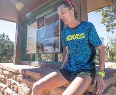 Jim Walmsley set a new Grand Canyon R2R2R FKT this morning - 5:55:20