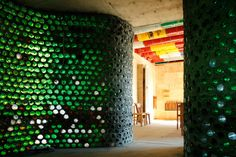 Officina Roma: A Villa Entirely Built Out Of Trash : TreeHugger