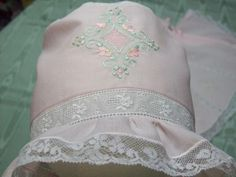 Kaitlyn Collection Rosie Pink Baby Bonnet