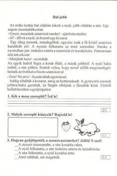Szövegértés gyakorlásához feladatlapok, 2. osztály - kossuthsuli.lapunk.hu Worksheets, Archive, Album, Teaching, School, Picasa, Learning, Education, Teaching Manners