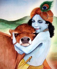 Radha Krishna Painting | Celestial Art | Pinterest ...