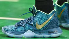 Every Sneaker Worn By Kyrie Irving This Season Basketball Shoes Kyrie, Mba Basketball, Nike Air Shoes, Sneakers Nike, Zapatillas Nike Basketball, Ballin Shoes, Kyrie Irving Shoes, Shoe Basket, Baskets Nike