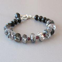 Hey, I found this really awesome Etsy listing at https://www.etsy.com/listing/259695368/rutilated-quartz-garnet-spinel-bracelet