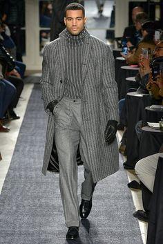 Joseph Abboud Menswear Herbst Winter 2018 New York - Mens Fashion 2018, Big Men Fashion, Stylish Mens Fashion, Latest Mens Fashion, Mens Fashion Suits, Fashion Outfits, Live Fashion, Fashion News, Casual Outfits