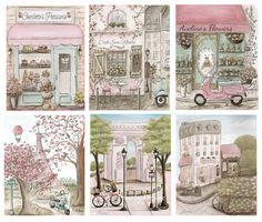 Paris Decor Vintage Paris Bedroom by NurseryRembrandts on Etsy