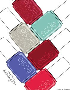 i love essie's holiday collection / color me caitie