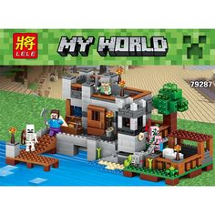 36.83$ Watch here - http://ali7y4.shopchina.info/go.php?t=32805727054 - 517pcs The new Building blocks Mine world Wan chai pier sets toys Compatible with legoed mycraft blocks toys for children #buyonlinewebsite