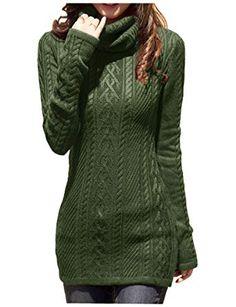 de28f88cf8d140 v28 Women Polo Neck Knit Stretchable Elasticity Long Sleeve Slim Sweater  Jumper (US Size 0