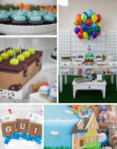 Up Birthday Party with Lots of Ideas via Kara's Party Ideas | KarasPartyIdeas.com #up #birthday #party #supplies #ideas