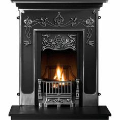 Paris Cast Iron Fireplace - Bedroom Fireplaces - Fireplace Packages