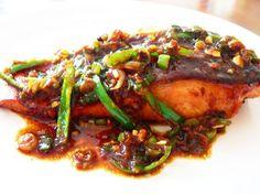 Salmon with Thai Chilli Sauce Recipe