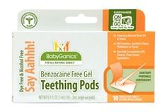 Baby Ganics Teething Pods(10pack)