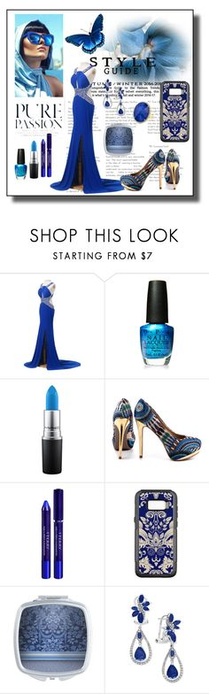 """""""Dress To Impress"""" by personaleffects ❤ liked on Polyvore featuring OPI, MAC Cosmetics, ZIGIgirl, By Terry, Effy Jewelry, fashionset, polyvorestyle and polyvorefashion"""