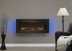 ClassicFlame 47-In Felicity Wall Hanging Electric Fireplace - 47II100GRG