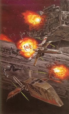 Second Battle of Milagro illustrated in 'Dark Forces: Jedi Knight'