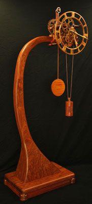 *Gary Johnson's Handmade Wood Clock