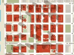 best map i've seen all day. via feltron