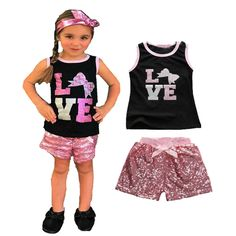 Find More Clothing Sets Information about Retail baby girl clothing set Letter printed T shirts + Sequins shorts kids baby girl clothes set summer style kids clothing set,High Quality clothing connection,China clothing rugby Suppliers, Cheap clothing ring from sunnybaby   store on Aliexpress.com