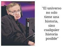 Imágenes Con Frases De Stephen Hawking Para Recordar Stephen Hawking, Einstein, Social Marketing, Insta Pic, Social Media, Motivation, History, Quotes, Instagram
