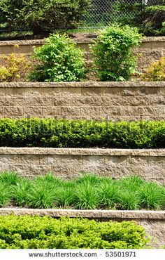 how to build a retaining wall on a hill