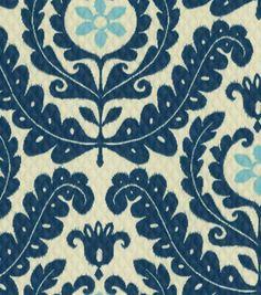 Home Decor Print Fabric-Waverly  Meridian Pool